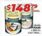 Oferta de Caballa Puglisi x 380gr  por $148,79