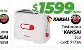 Oferta de Tostadora kansai por $1599