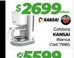Oferta de Cafetera kansai blanca por $2699