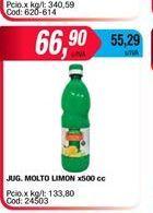 Oferta de Jugo limon MOLTO X 500CC por $66,9