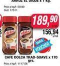 Oferta de Cafe Dolca trad-suave x 170ggrs  por $189,9