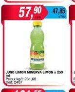 Oferta de Jugo limon MINERVA x 250ML  por $57,9