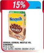 Oferta de Cereal Cereal Nestle vs sabores  por