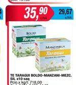 Oferta de Te Taragui boldo-manzanilla x 10saq. por $35,9