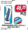 Oferta de Cerveza Quilmes lata x 473cc  por $46,25