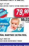 Oferta de Pañales Babysec ultra reg  por $79,9