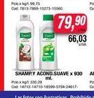 Oferta de Shampoo y acondicionador  Suave x 930ml  por $79,9