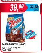 Oferta de Cacao Toddy X 180grs por $39,9