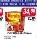 Oferta de Puré de tomate Marolio x 520gr  por $34,9