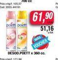 Oferta de Desod. Poett x 360cc por $61,9