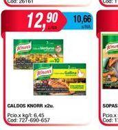 Oferta de Caldo Knorr x 2un. por $12,9