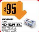 Oferta de Manteca Ilolay por $95