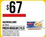 Oferta de Salchichas Lario por $67