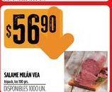 Oferta de Salame Vea por $56,9