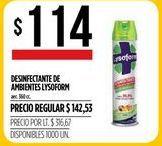 Oferta de Desinfectante Lysoform por $114