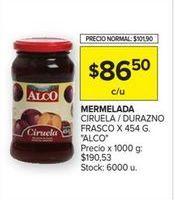 Oferta de Mermelada Alco por $86,5