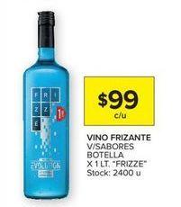 Oferta de Vino espumoso Frizzé por $99
