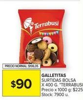 Oferta de Galletas Terrabusi por $90