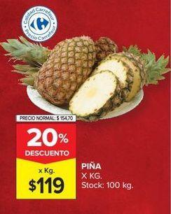 Oferta de Piña por $119