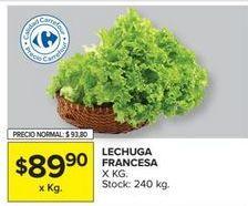 Oferta de Lechuga por $89,9
