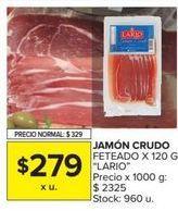 Oferta de Jamón Lario por $279