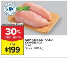 Oferta de Suprema de pollo congelada por $199