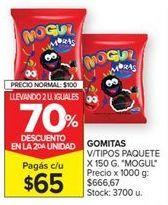 Oferta de Gominolas Mogul por $65