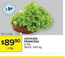 Oferta de Lechuga francesa  por $89,9
