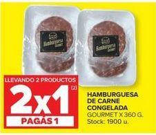 Oferta de Hamburguesa de carne congelada  por
