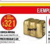 Oferta de Cerveza Imperial por $321