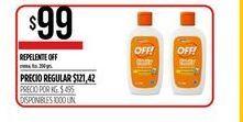 Oferta de Repelente de insectos Off por $99