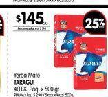 Oferta de Yerba mate Taraguí 500gr por $145