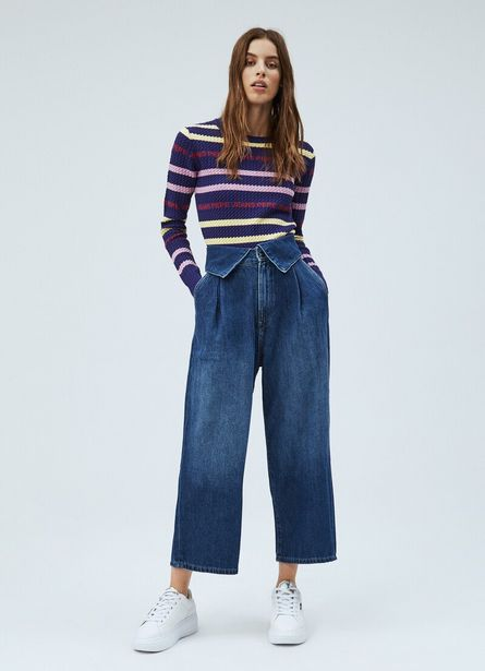 Oferta de FABLE CULOTTE FIT HIGH WAIST JEANS por $99