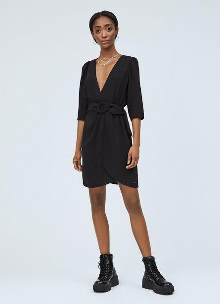 Oferta de LULLU WRAP COLLAR DRESS por $75