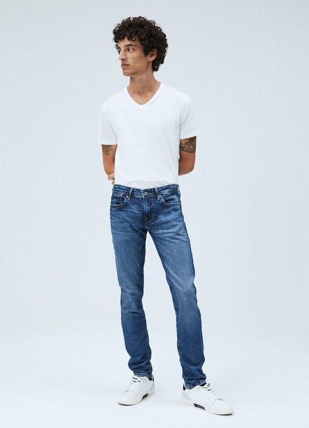 Oferta de HATCH SLIM FIT LOW WAIST JEANS por $99