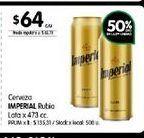 Oferta de Cerveza Imperial lata x 473cc por $64
