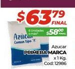 Oferta de Azúcar Primera marca por $63,79