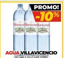 Oferta de Agua Villavicencio por