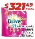 Oferta de Jabón líquido Drive por $321,49