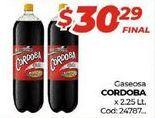 Oferta de Gaseosas Córdoba por $30,29
