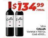 Oferta de Vino Callia por $134,99