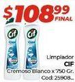 Oferta de Limpiadores Cif por $108,99