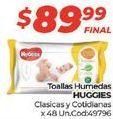 Oferta de Toallitas húmedas para bebé Huggies por $89,99