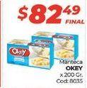 Oferta de Manteca Okey por $82,49