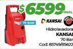 Oferta de Hidrolavadora kansai por $6599