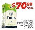 Oferta de Vino blanco Toro por $70,99