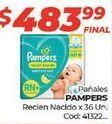 Oferta de Pañales Pampers por $483,99