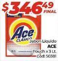 Oferta de Jabón líquido Ace por $346,49