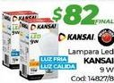 Oferta de Lámpara led kansai por $82