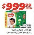 Oferta de Pañales Huggies por $999,99